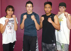 SL boxing quartet compete in Calgary