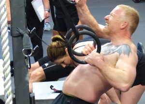 Crossfit holds fitness competition