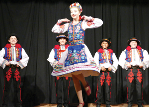 All ages Ukrainian club dances a year end show
