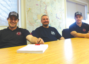 New faces in the Lesser Slave Regional Fire Service