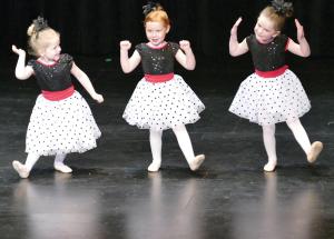 Lyrical choreography: Dance Creations showcase