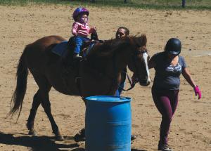 Horsemanship display at season's first Gymkhana