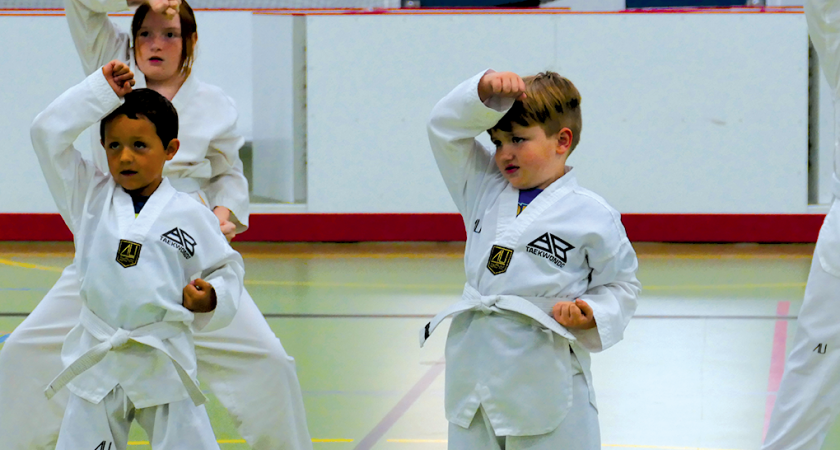 TKD students get tested!