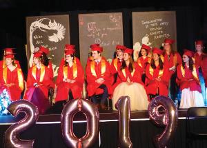Ladies and gentlemen….the graduates!