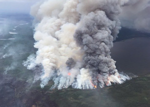 'Monster fire' forces another set of evacuations up north