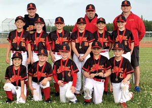 Mosquito Heat go 3-0 to win gold in Pembina League year-end