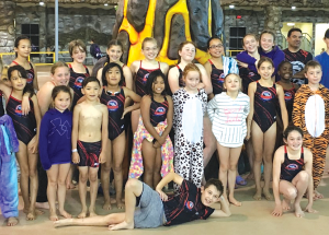 Over 30 Sharks swim at GP meet
