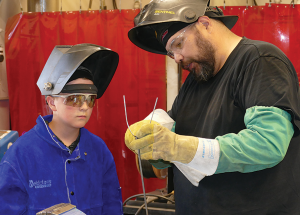College offers a free introduction to welding
