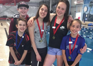 Five relay golds for Sharks in Peace River