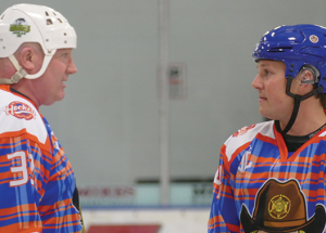Hunter Brothers highlight of 6th annual Ice Breaker Hockey event