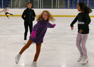 Figure skating up and running