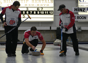 First year of Pomeroy Curling Tour  in Slave Lake