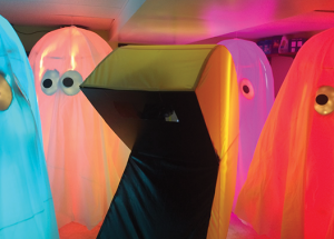 Local family's Pac Man costumes creating a bit of a buzz
