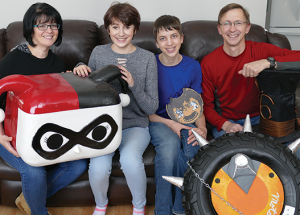 Local family makes comic expo costumes for years
