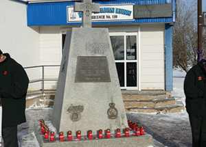 Thanks to all who helped make the Remembrance Day ceremonies successful