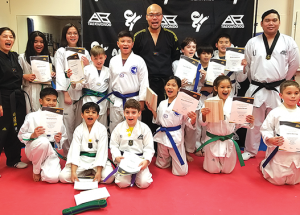AB Taekwondo club belt tests and tournament results