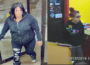 Slave Lake RCMP on the hunt for female shoplifters