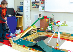 'Mario World' takes over St. Francis school