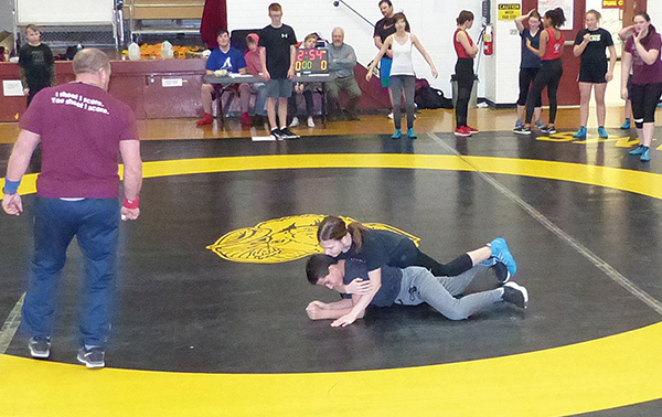 Grappling for gold