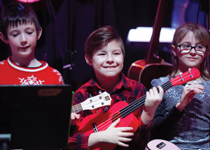 Koinonia School shows off musical chops at coffee house