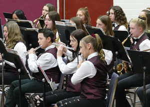 Brass band and smiles