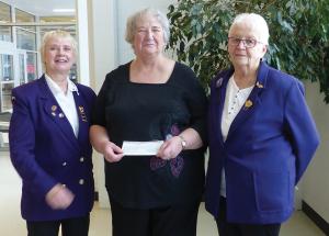 Royal Purple donates