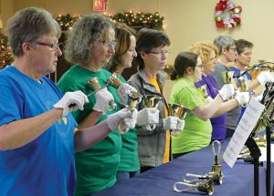 Seniors' Christmas banquet at the Friendship Centre