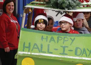 Hall-i-day Parade and Winter Wonderland