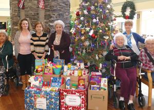 Santa's senior helpers