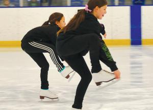 Slave Lake figure skating starting 'slow' and 'small'