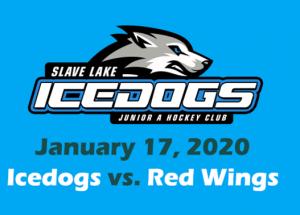 Video – Icedogs vs. Red Wings   Jan. 17 / 2020