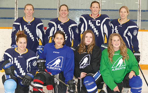 Blazing a trail for female hockey in Slave Lake for 26 years
