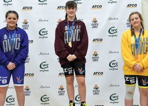 Silver, bronze for wrestlers at winter games