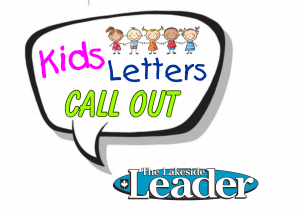 Kids' letters – call out