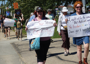 Peace & Equality walk goes without a hitch