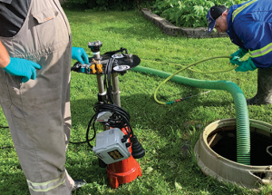 Seeking solutions to M.D. sewer pump problems