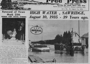 Through the years Snippets from the Northland Free Press (precursor to the Lakeside Leader).