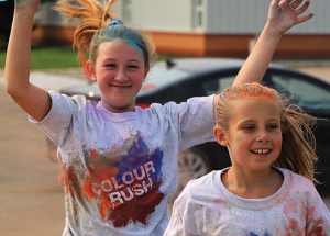 Rotary helping daycare organize another 'Colour Rush'