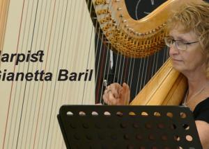 Video – Harpist Gianetta Baril, September 21, 2020